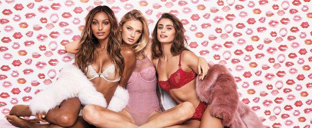 According to the Victoria's Secret Angels, These Are 2018's Hottest Lingerie Colors