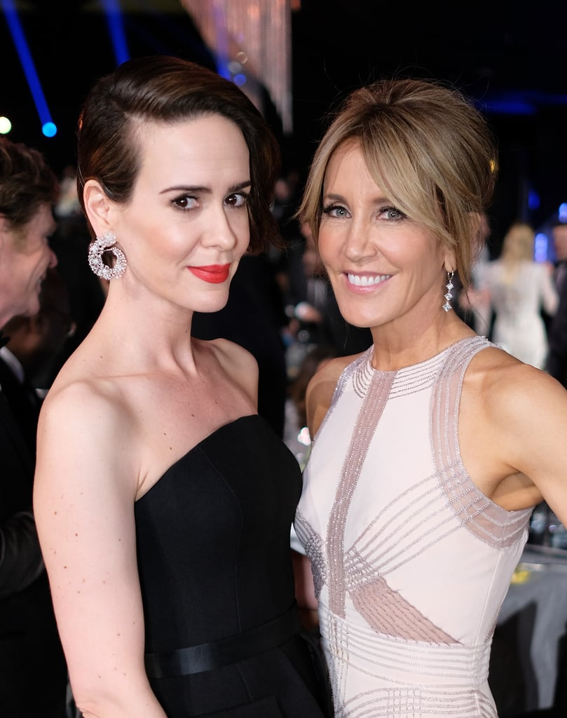 Pictured: Felicity Huffman, Sarah Paulson