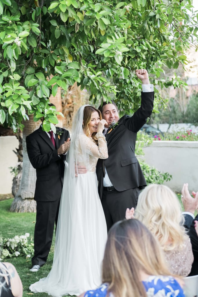 Lauren and Nelson celebrated their nuptials in Palm Springs, where they and their families have strong ties. See the wedding here!