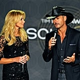 Faith Hill and Tim McGraw announced upcoming performances.