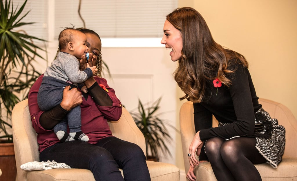 Kate Middleton With Kids in England Nov. 2016