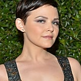 To create Ginnifer Goodwin's lavender smoky eye, makeup artist Mai Quynh applied Shiseido Shimmering Cream Eye Shadow in Ice (£21) from lash line to crease. She then blended the dark and medium purple shadows from YSL Ombres 5 Lumières in 4: Lilac Sky (£37.70) into the crease and upward before smudging the dark purple along Ginnifer's lower lash line.
