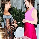 Emma Stone and Shailene Woodley