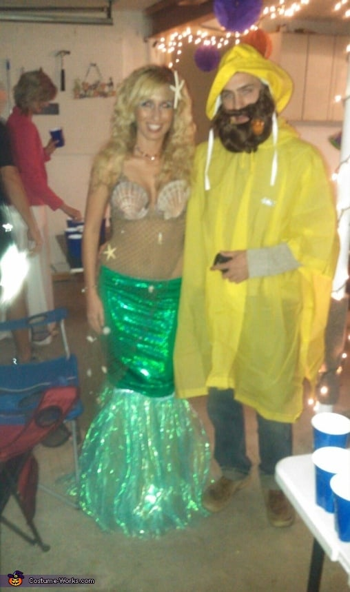 mermaid and fisherman 100 creative couples costume ideas popsugar love sex. Black Bedroom Furniture Sets. Home Design Ideas