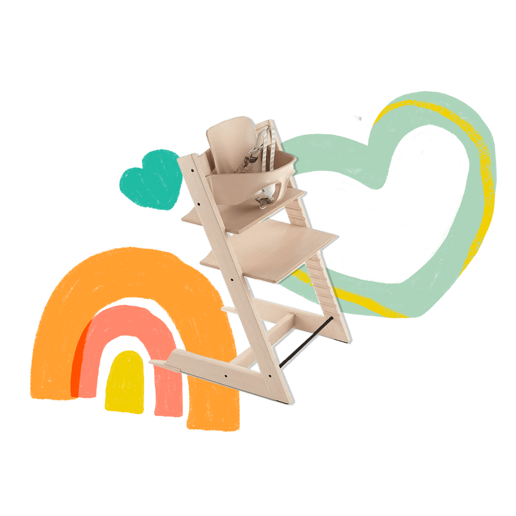 Tripp Trapp by Stokke High Chair Natural