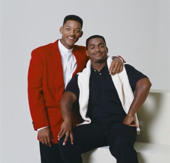 And he hangs out with Carlton (Alfonso Ribeiro).