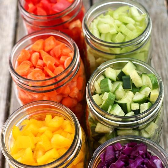 Mason Jar Salad Bar