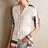 Lemlem Striped Gauze Buttondown Tunic ($250)