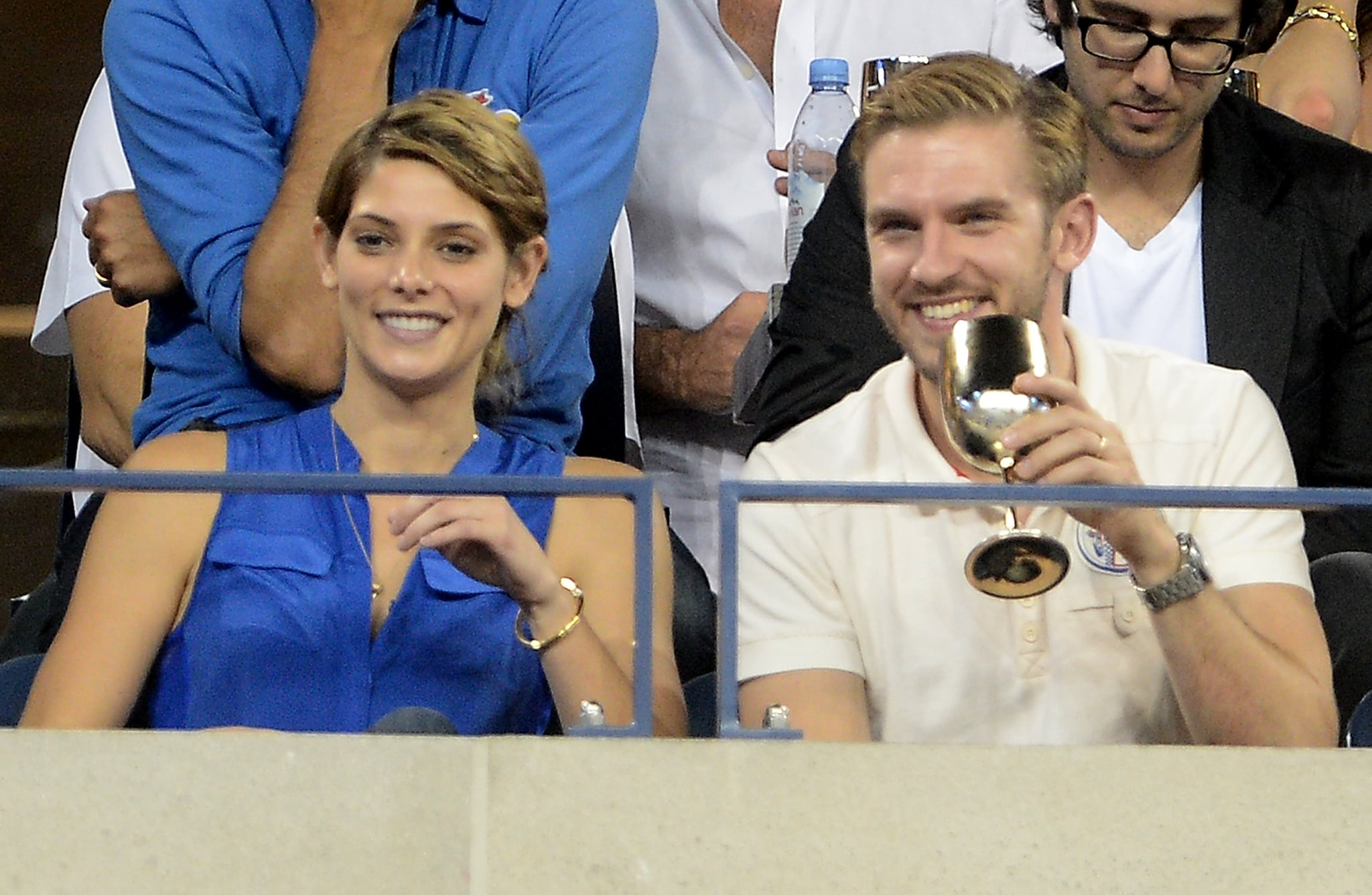 Ashley Greene was among the attendees at the US Open.