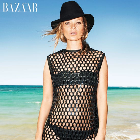 Kate Moss Inspires the Sexiest Kind of Beach Style in the Latest Harper's Bazaar