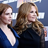 Lea Thompson and Daughter at Back to the Future Screening