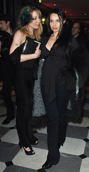 Julie Depardieu and French Actress Beatrice Dalle