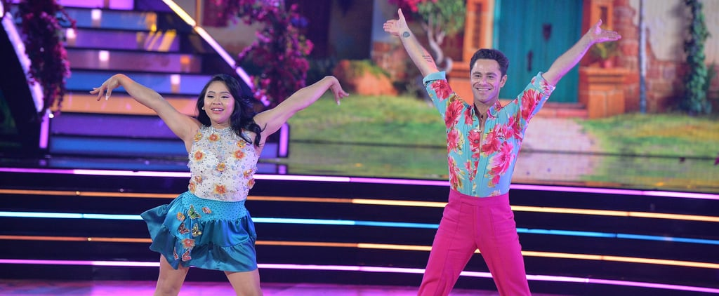 Suni Lee's Encanto Outfit on DWTS Disney Heroes Night