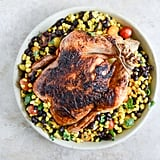 Chipotle Lime Roasted Chicken With Black Bean Corn Salad