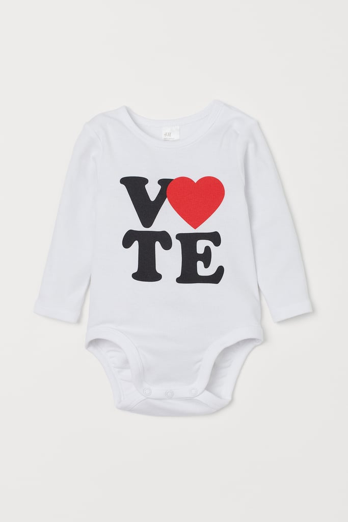 Baby's Vote Onesie