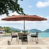 Zadie Twin Rectangular Market Umbrella