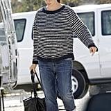 Jennifer Garner arrived on the set of her latest film in New Orleans.