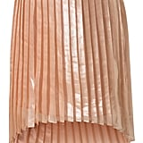 Pair this mermaid-inspired shimmery pleated skirt with preppy basics for a cool mix of style. Premium Silk Shimmer Pleat Dip Hem Skirt ($130)
