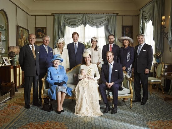 She's in Prince George's Official Christening Portrait