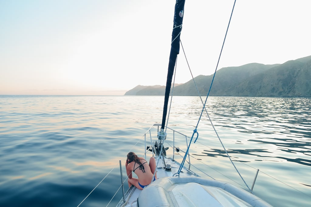 Go sailing with a friend (preferably one who knows how to sail!).