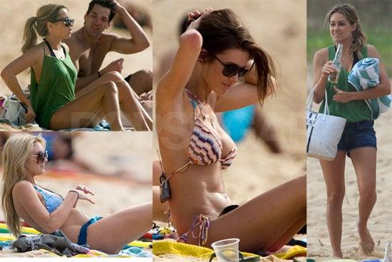 Photos of Lauren Conrad, Audrina Patridge, Stephanie Pratt, Lo Bosworth in Bikinis and Shirtless Brody Jenner in Hawaii