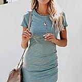 0bcf93bef73 Floerns T-Shirt Dress · Socialite Knot Front Cutout T-Shirt Dress · Ecowish  Dress ...