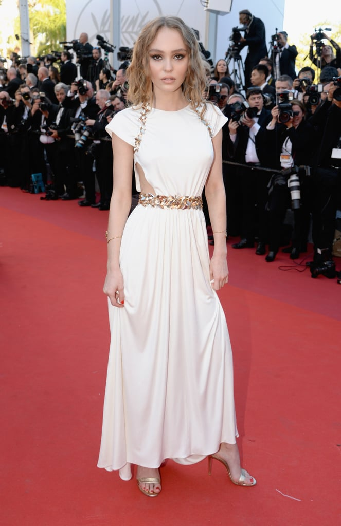 Lily-Rose Depp looked beautiful on the red carpet in 2017.