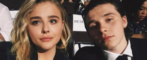 Brooklyn Beckham Sweetly Surprises Chloë Grace Moretz at the DNC