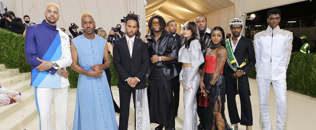 Lewis Hamilton Supported Black Designers at the Met Gala
