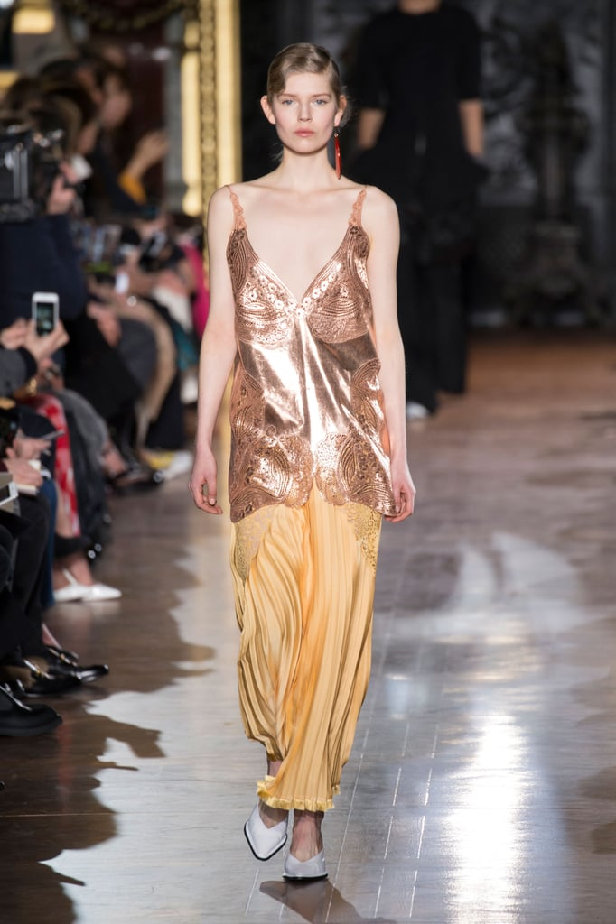 Stella McCartney Gives the Slip Dress a Sporty Kick For Fall '16