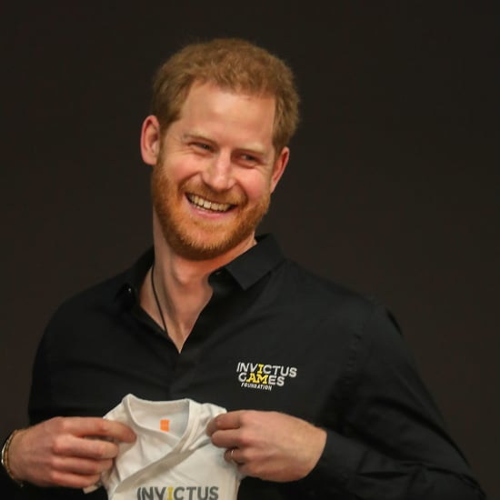 Prince Harry Reacts to Invictus Games Onesie For Baby Archie