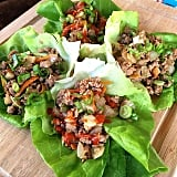 Butter lettuce also makes a great base for wraps. These are also a spin on the popular P.F. Chang's recipe, but use turkey instead of chicken.