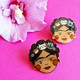 Frida Cat Lapel Pin