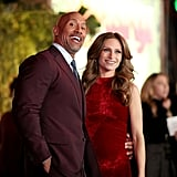 Dwayne Johnson at Jumanji Premiere in LA December 2017