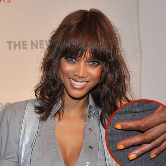 Celebrities With Chipped Nail Polish