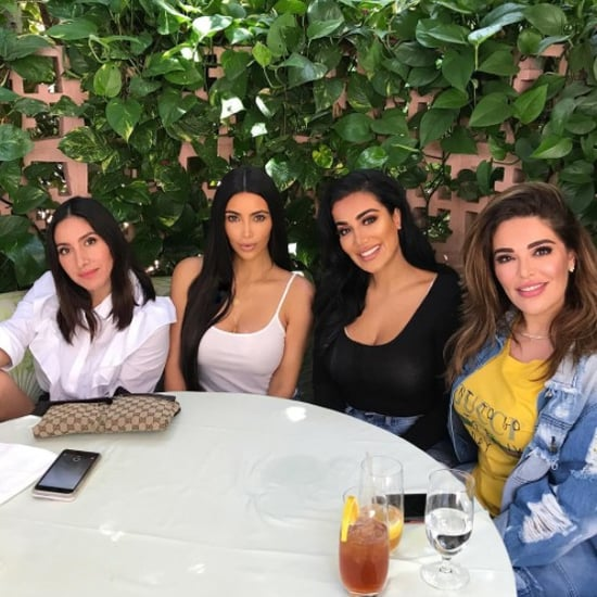 Kim Kardashian Huda Kattan Jen Atkin Makeup Collaboration