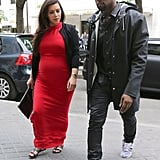 Kim and Kanye Say No Thanks to Baby Gifts