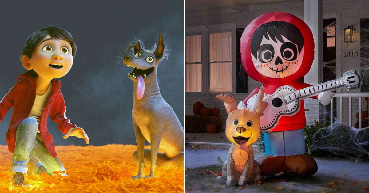 You'll Want to Keep This Coco-Themed Halloween Inflatable on the Lawn All Year