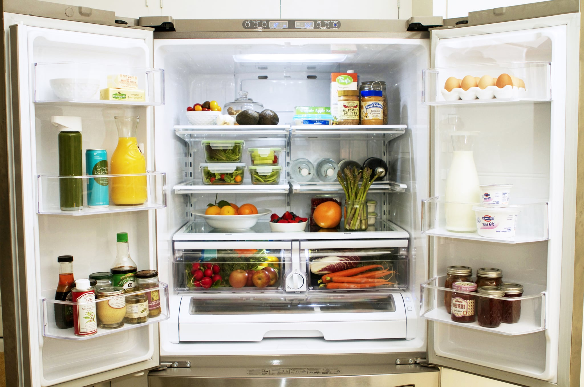 how to organize your fridge popsugar food