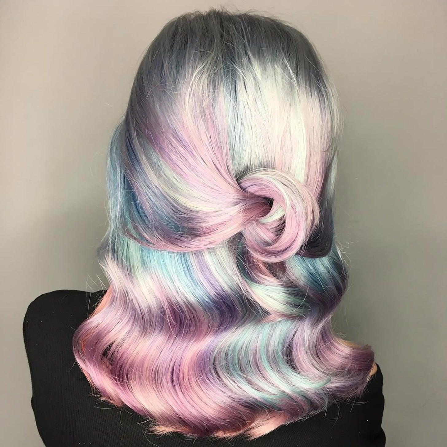 Pearl Hair Color Trend  POPSUGAR Beauty