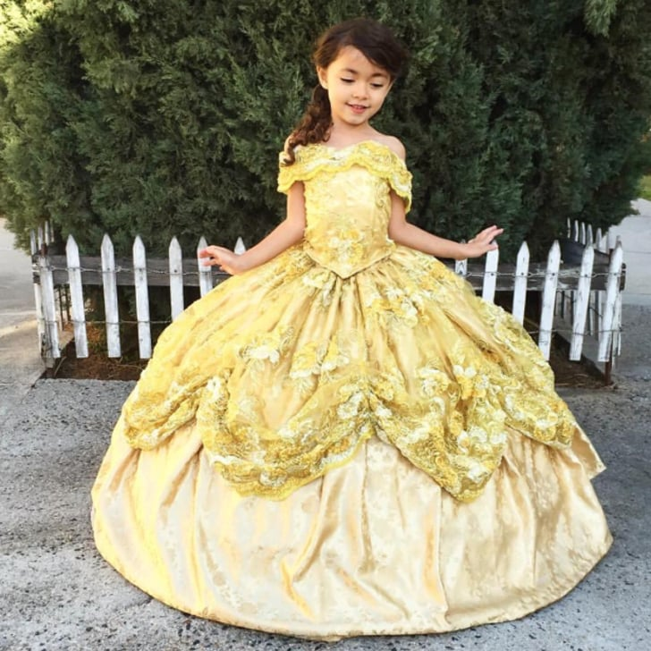Dad Designs Disney Dresses For Daughter | POPSUGAR Family