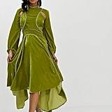 ASOS Velvet Midi Dress