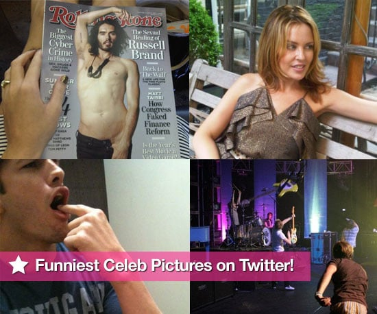 Pictures From Celeb Twitter Accounts Including Ashley Greene, Peter Facinelli, Kylie, McFly, Katy Perry and More