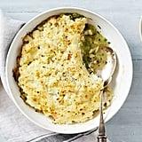 Chicken and Leek Pie With Cauliflower Crust