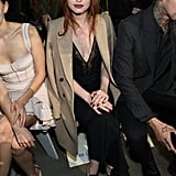 Madelaine Petsch at a Jonathan Simkhai Show in 2018