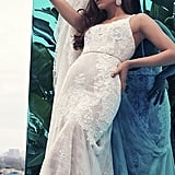 Galina Signature Lace Mermaid Wedding Dress With Moonstone Detail