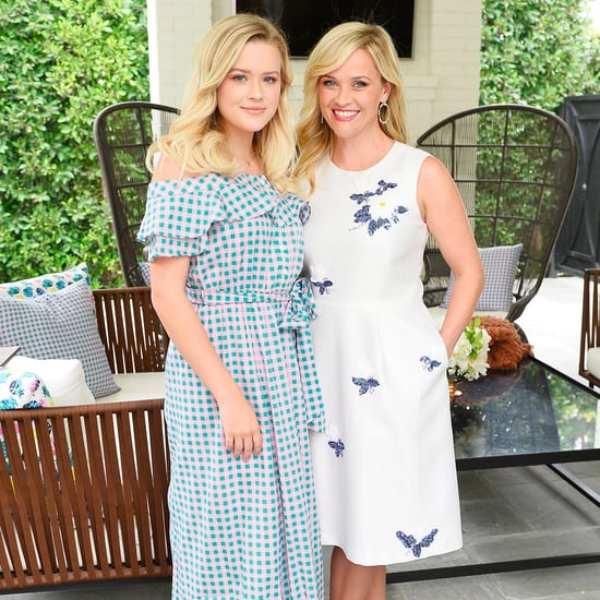 Reese Witherspoon & Ava Phillippe at 2017Draper James Event
