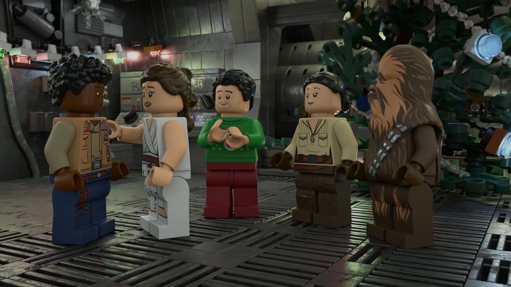 "Three superfandoms — Disney, Star Wars, and Lego — are coming together to release a holiday special this November, and we can't wait! Lego Star Wars Holiday Special, which will premiere on Disney+ in November, will directly follow the events of The Rise of Skywalker. According to a press release, the special ""reunites Rey, Finn, Poe, Chewie, Rose and the droids for a joyous feast on Life Day, a holiday first introduced in the 1978 Star Wars Holiday Special"" and features Rey going on a new adventure with BB-8 to prepare for the holiday and gain a deeper understanding of the Force. ""At a mysterious Jedi Temple, she is hurled into a cross-timeline adventure through beloved moments in Star Wars cinematic history, coming into contact with Luke Skywalker, Darth Vader, Yoda, Obi-Wan and other iconic heroes and villains from all nine Skywalker saga films,"" the release reads. ""But will she make it back in time for the Life Day feast and learn the true meaning of holiday spirit?"" See the first photos from the special above and ahead, and stay tuned for more news on the special as we get closer to its Disney+ premiere on Nov. 17.      Related:                                                                                                           The Most Current Release Date For the Last Disney Movie Still Coming Out in 2020"