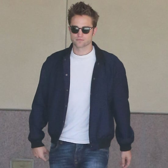 Robert Pattinson Leaving the Office in LA