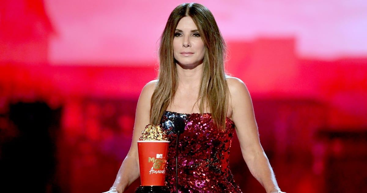Sandra Bullock's Sequined Top Is Fashion's Answer For